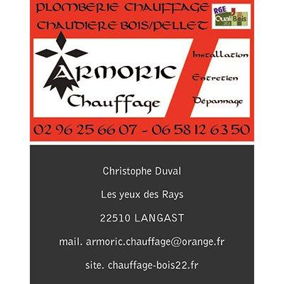 ARMORIC CHAUFFAGE Plombier Chaffagiste Lectricien Carreleur