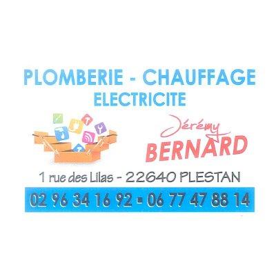 BERNARD JEREMY Plombier Chauffagiste Lectricien PLESTAN